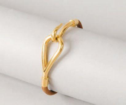 HERMÈS Paris made in France *Bracelet «Jumbo»...