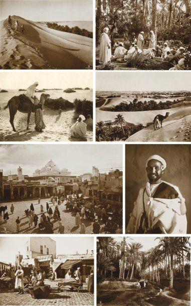 Rudolf Franz Lehnert (1878-1948) et Ernest Heinrich Landrock (1878- 1966) Afrique du Nord, c. 1910-1