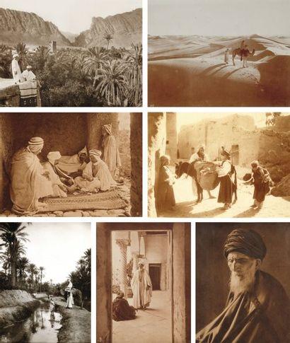 Rudolf Franz Lehnert (1878-1948) et Ernest Heinrich Landrock (1878-1966) Afrique du Nord. c. 1910-19
