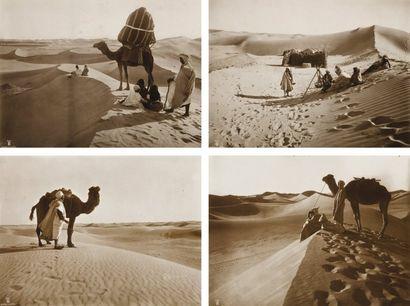 Rudolf Franz Lehnert (1878-1948) et Ernest Heinrich Landrock (1878-1966) Afrique du Nord. Sahara, c.
