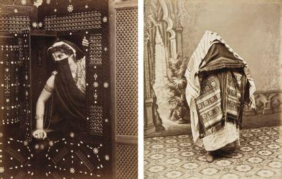 Femmes du Maghreb et du Moyen-Orient. Types...
