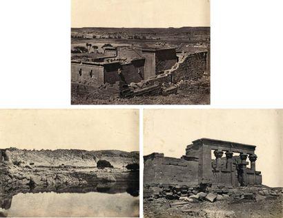 Maxime Du Camp (1822-1894) Nubie. 1850.