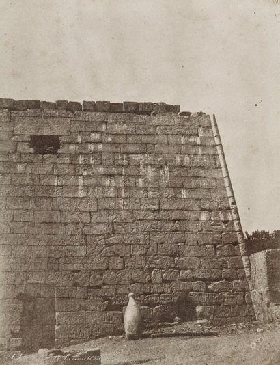John Beasley Greene (1832-1856) Voyage dans la Haute Egypte et la Nubie, janvier-mars...