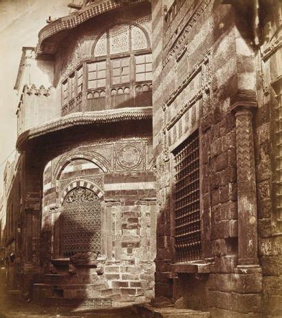 James Robertson (1813-1888) & Felice Beato (1833-1907) Le Caire, c. 1857. Sebil Kuttab...