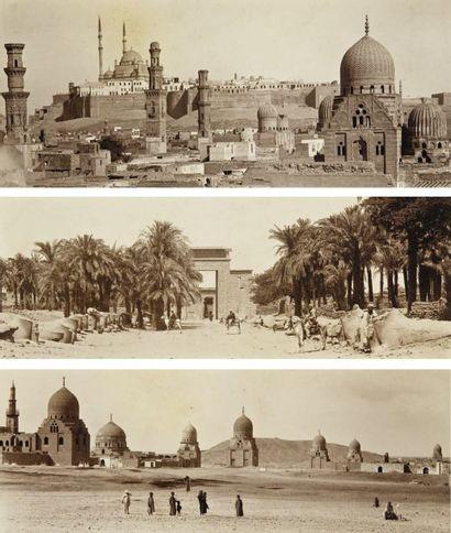 Gabriel Lekegian Egypte, c. 1870.