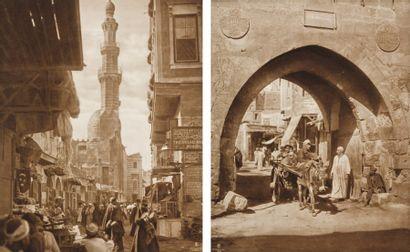 Rudolf Franz Lehnert (1878-1948) et Ernest Heinrich Landrock (1878-1966) Egypte, c. 1910.