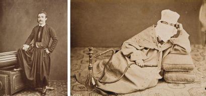Tancrède Dumas (1830-1905) Liban, c. 1865.