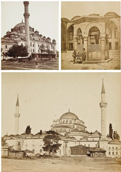 James Robertson (1813-1888) & Felice Beato (1833-1907) Constantinople, c. 1855.
