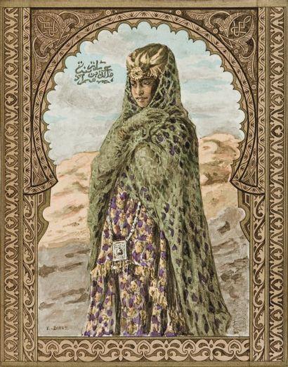 DINET (D'après la traduction de Marcel Devic). Antar, poème héroïque arabe. Paris,...