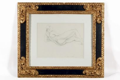 Henri MATISSE (1869-1954) Nu allongé, Nice,...