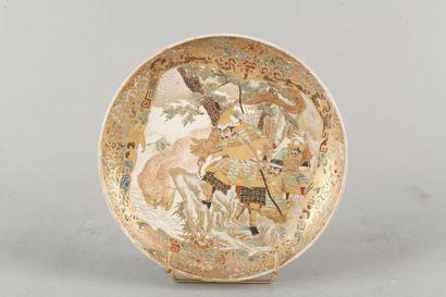 Japon, XIXe siècle Assiette en porcelaine...