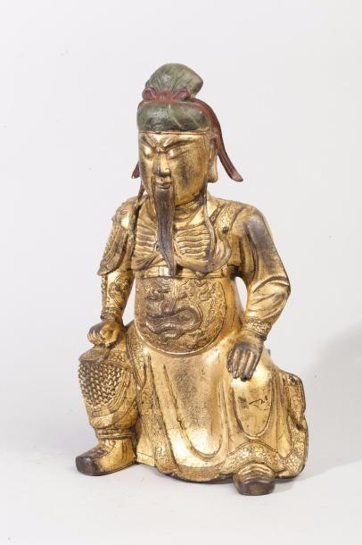 Chine, période Ming, XVIIe siècle. Grande...