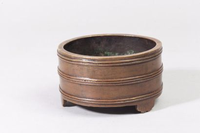 Chine, période Ming (1368-1644) Brûle-parfum...