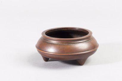 Chine, période Ming, XVIIe siècle Brûle-parfum...