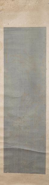 Chine, fin XIXe siècle Peinture verticale,...