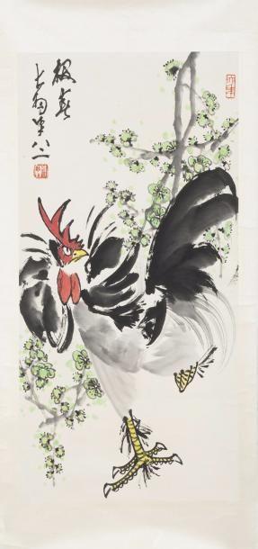 Chine, 2ème moitié du XXe siècle Peinture...