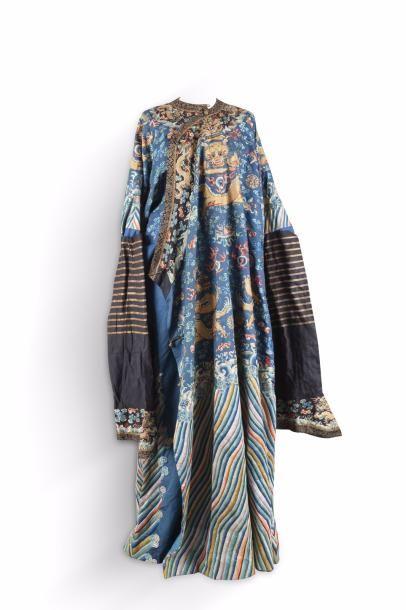 Chine, période Guangxu, fin XIXe siècle Robe...