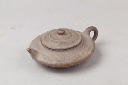 Chine, fin de la période Qing Théière en...