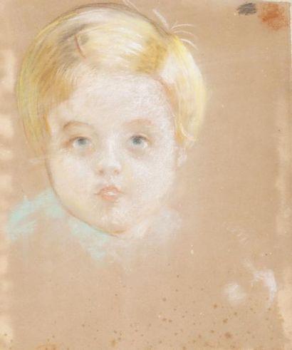 Portrait de Jean-François Gonon Pastel, non...