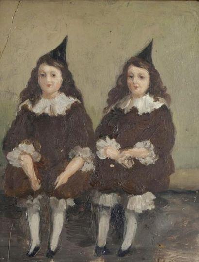 • Portraits de Marie-Thérèse et Marie Louise,...