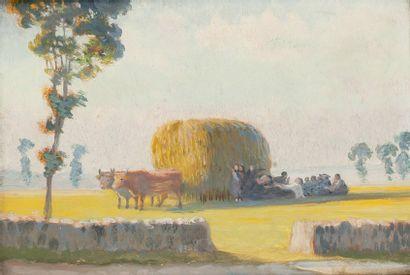 Moisson, Yssingeaux, peupliers et ses environs...