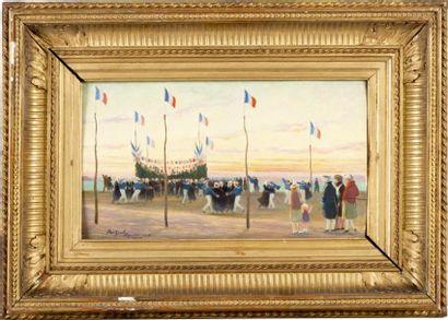 La fête des marins à Trégastel, le 14 juillet...