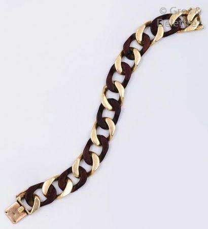 VAN CLEEF & ARPELS - Bracelet gourmette en...