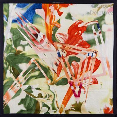 Louis VUITTON par James Rosenquist 1987 Lot...