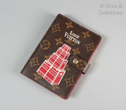 """Louis VUITTON année 2008 """"Porte agenda fonctionnel..."""
