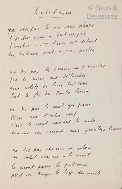 Tristan TZARA (1896-1963) Figure du Dadaïsme.