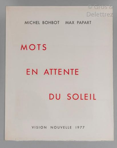 MAX PAPART. Michel BOHBOT.
