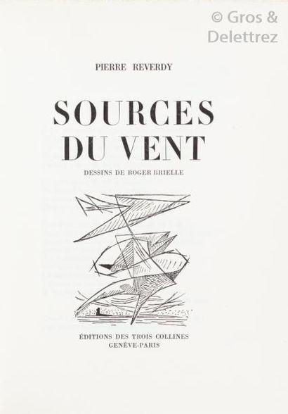 [BRIELLE] Pierre REVERDY.