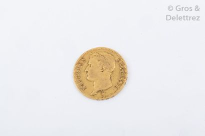 Une pièce de 40 Francs. (1810 Napoléon)....