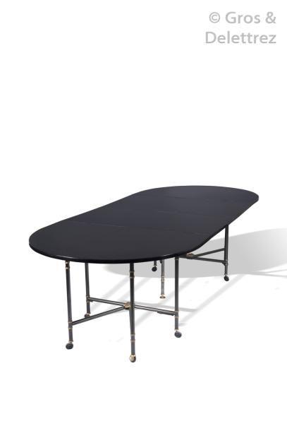 MAISON JANSEN Importante table de salle à...