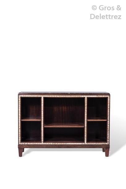 CLEMENT MERE (1861-1940) Rare meuble de salon...