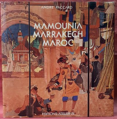 André PACCARD. Mamounia, Marrakech, Maroc....