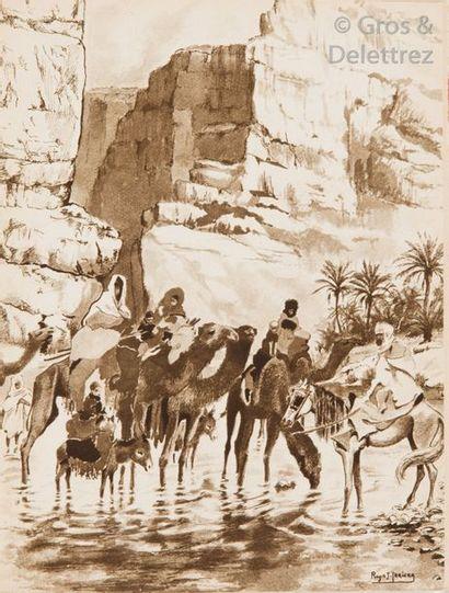 Georges ROZET. L'Aurès, escalier du desert....