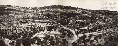 Félix Bonfils (1831-1885) Jérusalem. Panorama...