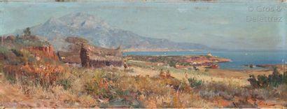 Maxime NOIRÉ (1861-1927)  La baie D'?Alger...