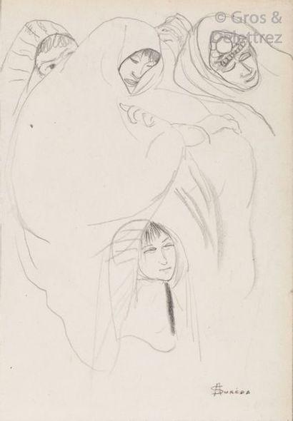 André SURÉDA ( 1872-1930) Femmes juives Mine...