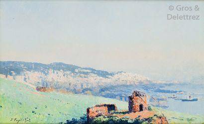 Pierre FAGET-GERMAIN (1890-1961) Alger, la...