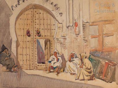 Condo de Satriano (XIXe- XXe) Porte à Oujda...