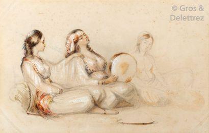 Attribué à Emmanuel Joseph LAURET (1809-1882)...