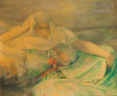 Louis Auguste GIRARDOT (1856-1933) La voluptueuse...