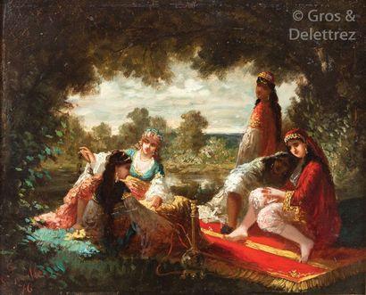 Antoine Edmond JOINVILLE (1801-1849) Femmes...