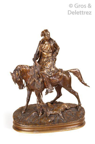 Pierre Jules MENE (D'après) (1810-1879) «Chasseur...