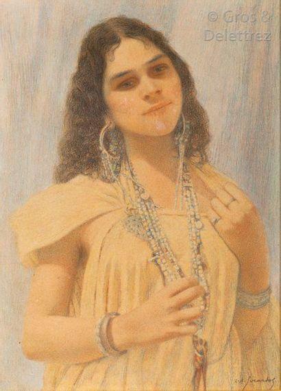Louis Auguste GIRARDOT (1856-1933) Jeune...