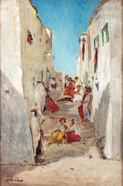 Maxime NOIRE (1861-1927) Femmes dans une...