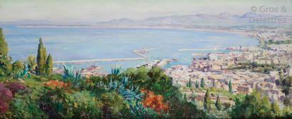 Olynthe MADRIGALI ( 1887 – 1950) La Baie...