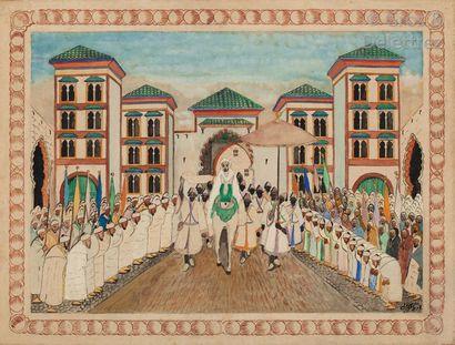 Mohamed BEN ALI R'BATI (1861-1939) Sortie...